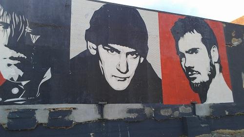 Glenn Danzig, Ian McKaye and Henry Rollins