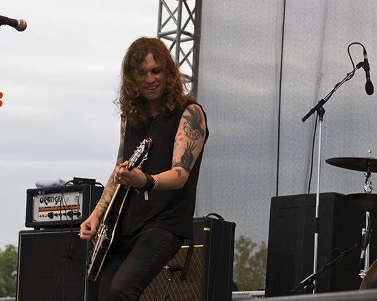 Rocket From The Crypt at Riot Fest 2013 Chicago by Mara Robinson