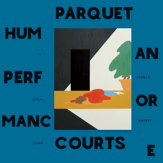 Parquet Courts Human Performance Album Cover